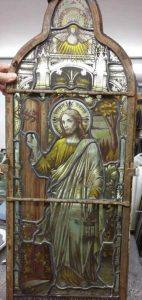 gious stained glass after restoration work